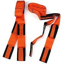 Edealing 2PCS Carry antebrazo elevación Mudanza Correa Transporte Cinturón Mover más fácil de Transporte Cinturón
