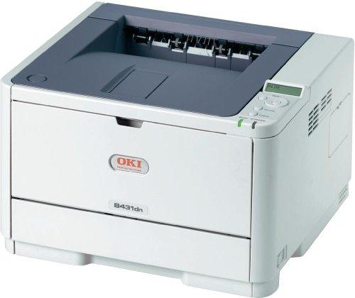 Oki B431dn schwarz/weiß Laserdrucker (1200x1200 dpi, USB 2.0)