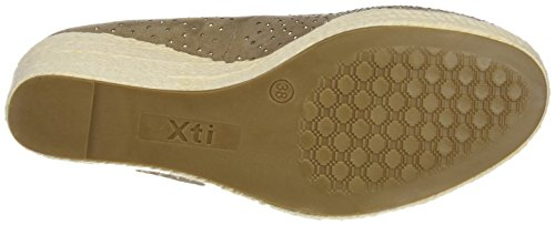 XTI - 046582, Scarpe col tacco Donna Marrone