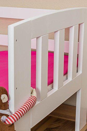 Kinderbett mit Rausfallschutz -