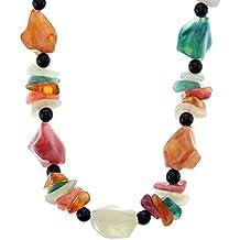 54ea4fed8f33 Collar Corto de Piedras Preciosas de Cristal - Collar de Mujer con Abalorios  Coloridos - Regalos
