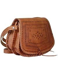 Amazon.es  bolso cuero mujer - Bolsos para mujer   Bolsos  Zapatos y ... 49968e639b9b