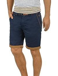 Blend Neji Herren Chino Shorts Bermuda Kurze Hose Mit Gürtel Aus 100%  Baumwolle… f7a458694f