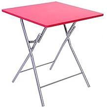 Amazon.fr : table pliante rouge