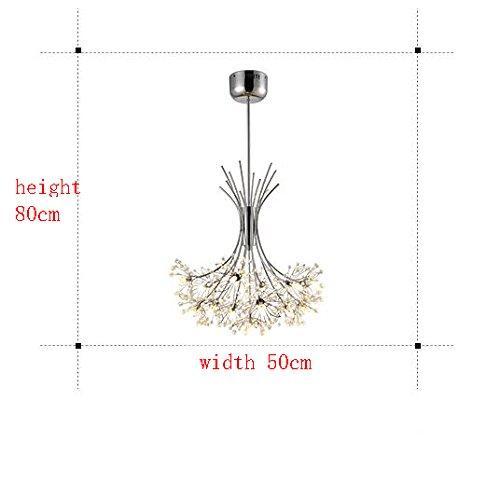 LED Kristall-Kronleuchter Schlafzimmer - 4