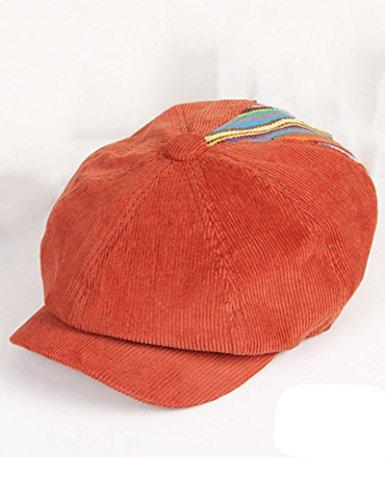 Chapeau de soleil d'été femelle velours côtelé mode Automne et hiver jours hommes et femmes Garder au chaud Sunscreen chapeau de soleil Pour les voyages de plage sortants ( Couleur : 1 ) 2