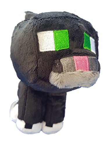 Minecraft 6363 20,3 cm Tuxedo Cat Gioco in Peluche