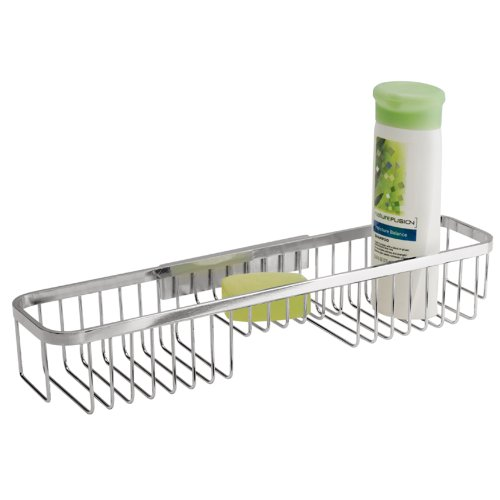 interdesign-easy-lock-pro-stainless-bathroom-shower-caddy-combo-basket-for-shampoo-conditioner-soap-