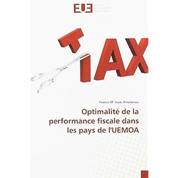 Optimalité de la performance fiscale dans les pays de l'UEMOA