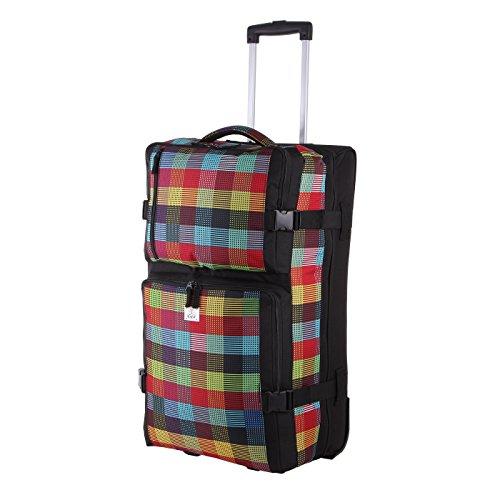 Rada Reisetasche mit Rollen, weicher Reisekoffer mit Trolleyfunktion, Damen und Herren, XL 88Liter Volumen, Stabiler Teleskopgriff, wasserabweisend und robust, RT/31/L