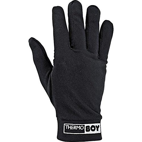 Thermoboy Unterziehhandschuhe Unterziehhandschuh 2.0, schützt vor Auskühlung, bequem, wärmend, atmungsaktiv, Schwarz, XXXL / 3XL