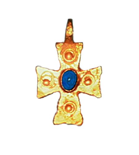 theodosius-cross-pendant-24kt-pure-gold-plated-silver-925-handmade