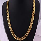 Vacuum electroplating KC hip hop Necklace