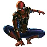 nihiug Vengeance Spider-Man Cosplay Costume Ritorno Collant Iron Spider-Man 3D Print,Red-M(161-170cm)