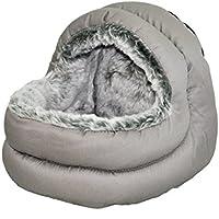 Snuggles Rosewood Cama con capucha bidireccional