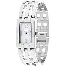 Reloj TIME FORCE de señora. Acero. Esfera blanca TF-4082L02M