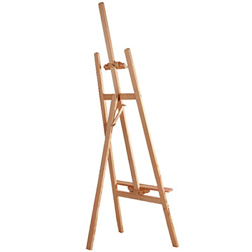 Studio Easel Artist Art Craft Disaplay For Drawing Board Artist Sketching Painting Display Easel Stand (Wooden Easel 145CM)