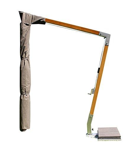 Maffei art 923 fodera di protezione per ombrelloni laterali a braccio fisso fino a mt. 3x4. tessuto esclusivo impermeabile e traspirante. made in italy