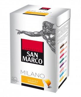 Segafredo 10 Packungen San Marco 10 Kapseln Sparpaket (Milano)