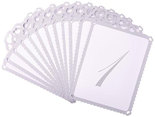 Tischnummern 1- 12 | Ginger Ray