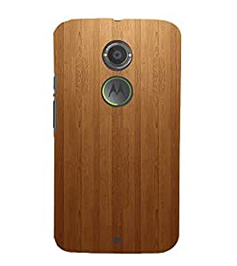 Wood texture Design 3D Hard Polycarbonate Designer Back Case Cover for Motorola Moto X2 :: Motorola Moto X (2nd Gen)