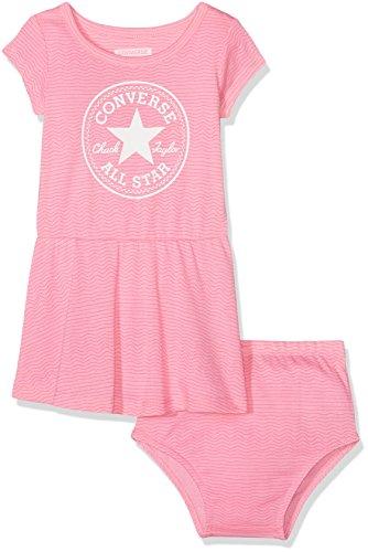 en Bekleidungsset Printed Dress Set, (Pink Glow A88), 0-12 (Hersteller Größe:12 Monate) ()