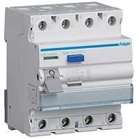 HAGER CDC463D FI-Schutzschalter 4P 63A 30mA AC