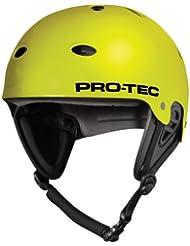Pro-Tec B2 Wake Casco para Skateboarding, Unisex adulto, Amarillo (Satinado Citrus), XS