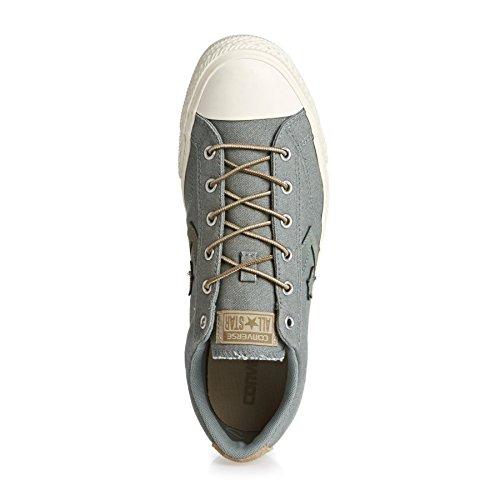 Converse Men's Star Player Men's Sneakers In Grey 100% Cotton GREEN|KHAKI