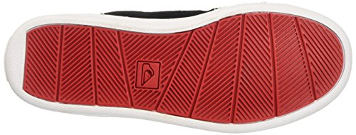 Quiksilver LITTLE COVE MID Jungen Hohe Sneakers Black/White/Red