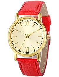 Amazon.es  anillo cuarzo rosa - Mujer  Relojes 36c874877972