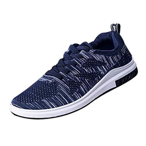 Sneaker Herren Leichte Turnschuhe Atmungsaktives Gym Freizeitschuhe Joggingschuhe Outdoor Laufschuhe Männer Elastische Mesh Turnschuhe Sportschuhe,ABsoar