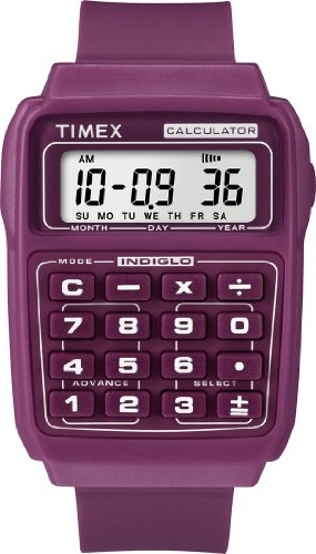 Timex Retro Gerald Berry Calculator Watch T2N189
