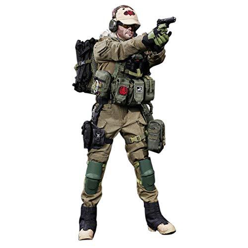 K9CK 73 Stücke Militärfiguren Spielsets 12 Zoll Israelische Spezialeinheiten Action Figur Soldat im Kampfanzug Voll bewegliche Figur mit viel Zubehör (Spielset Action-figuren)