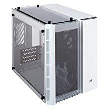 Corsair Crystal 280X Case da Gaming, Micro ATX Vetro Temperato, Bianco