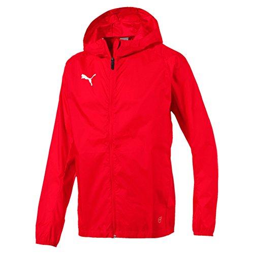 Puma Herren Liga Training Core Regenjacke, Red White, M