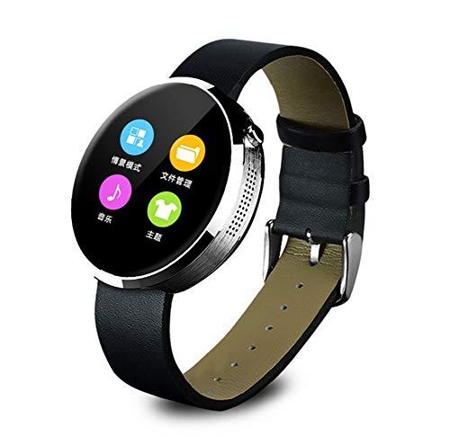 HHRONG Smartwatch mit Schlaf-Detektor, GPS-Positionierung, 1,5 Farbdisplay, IP67 wasserdichte Uhr, weibliche Herren Benachrichtigung Push