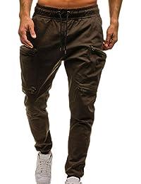 Jungen Kleidung 2018 Neue Mode Marke Hohe Qualität Fitness Workout Herren Hosen Casual Einfarbig Lose Viele Tasche Tasten Männer Hosen Bequem Zu Kochen