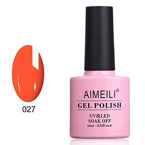ck Gel Nagellack Gel Nail Polish - Orange Sweetie (027) 10ml ()