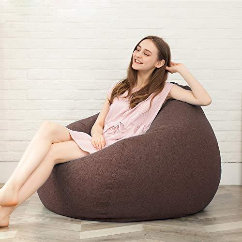 Zhanghaidong Fauler Sofa Bohnensack Gemütlichen Sofa Weichen Couch Schlafzimmer Beanbag - Stuhl -...