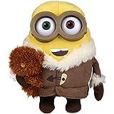 Simba 6305873090 - Minions Plüsch Ice Age Bob mit Bär 22cm gelb
