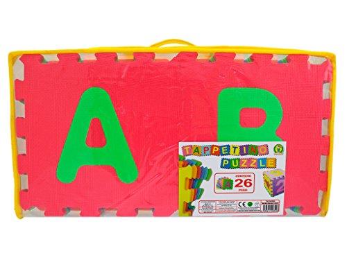 Tappeto puzzle lettere 26 pezzi