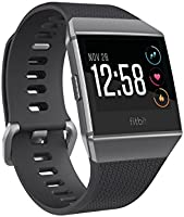 Fitbit Ionic Montre-Coach Connectée, Gris Graphite