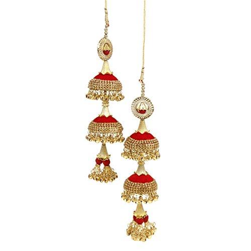 Much More Red Metal Kaleera Jewellery for Women