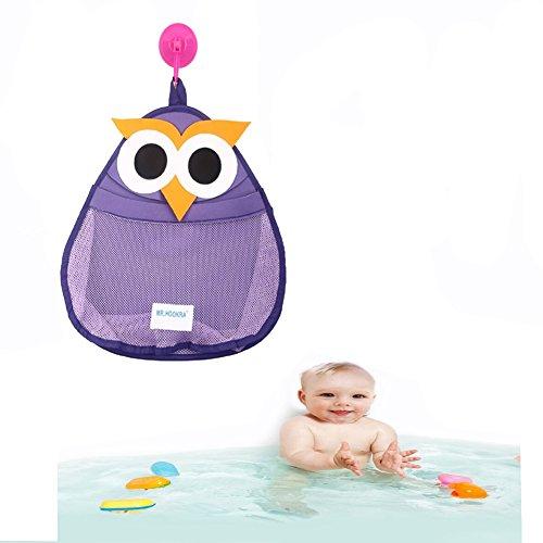 Spielzeug Speicherorganisator, Flyfish Bad Spielzeug Lagerung | NEUES DESIGN - Extra starke Saugkraft (C)