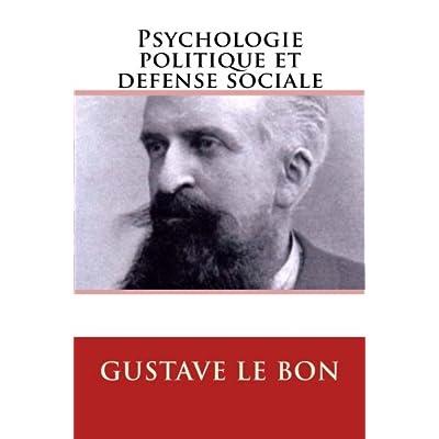 Psychologie politique et défense sociale