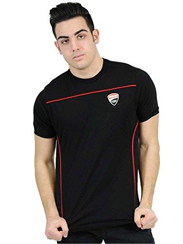 2016-officielle-ducati-corse-motogp-team-t-shirt-pour-homme-noir-rouge-en-100-coton-noir-mens-m-ches