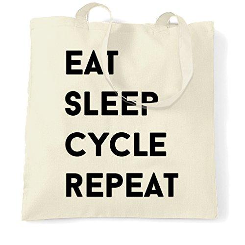 Cibo Ripetizione Sonno Ciclo Hobby Sport Mountain Bike Bici Da Strada Bmx Borsa Da Viaggio Naturale