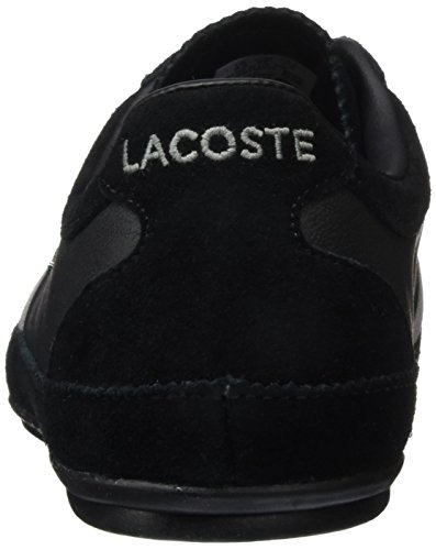 Lacoste Misano 22 Lcr, Baskets Basses Homme Noir - Schwarz (BLK 024)