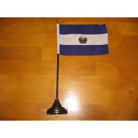 El Salvador Bandiera Da Tavolo